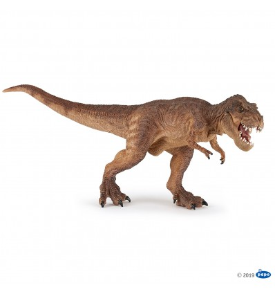 T-rex courant marron