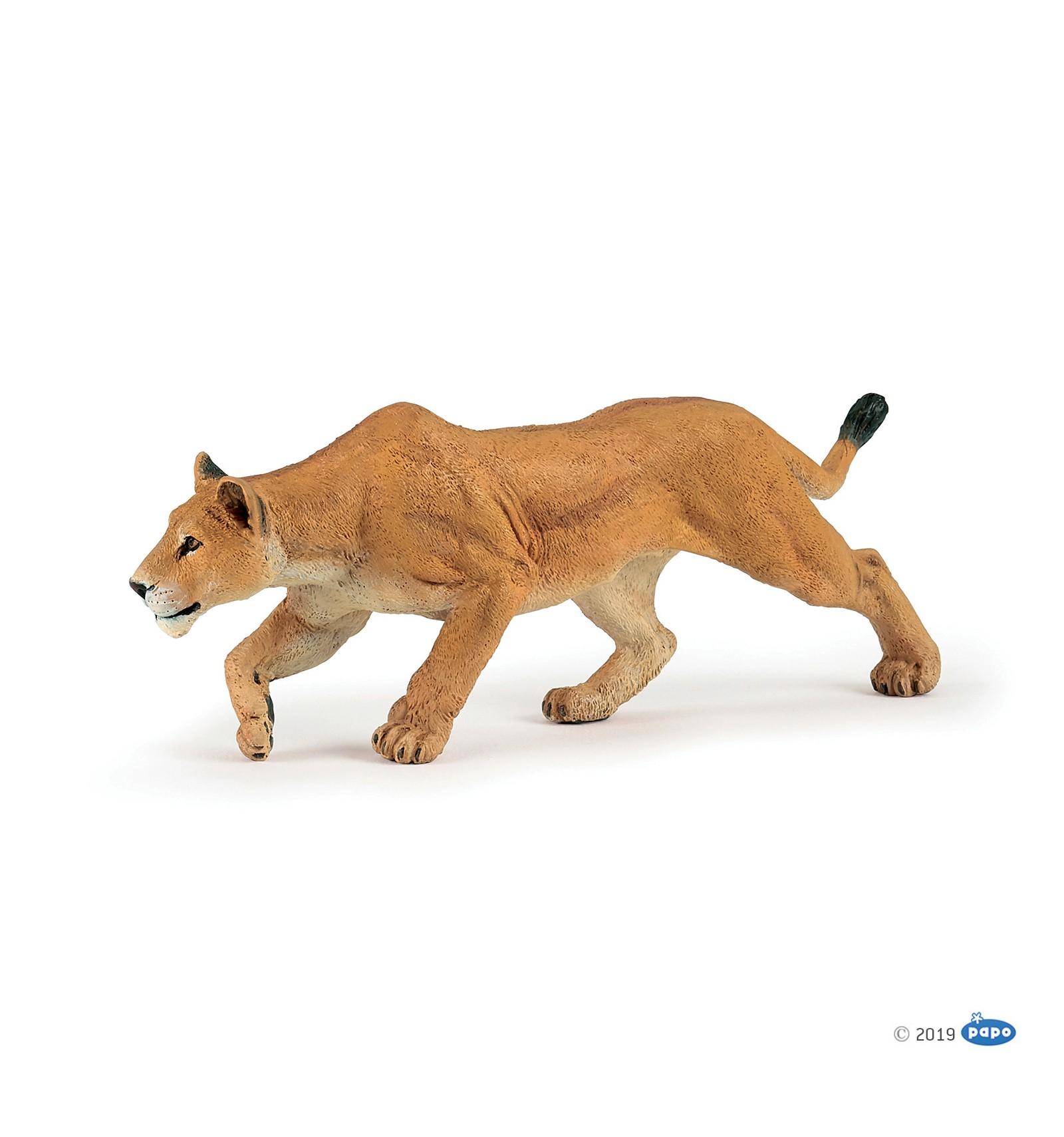 Papo Lioness con Cub Animal Figura Nueva