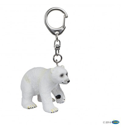 Key rings Polar bear cub