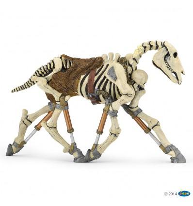 Phosphorescent skeleton horse