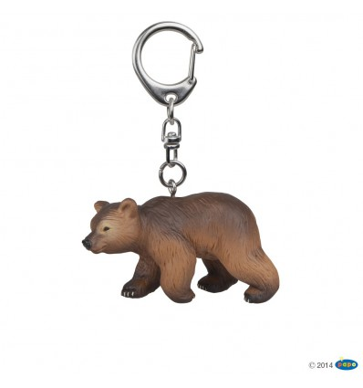 Key rings Pyrenees bear cub