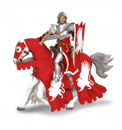 Griffin knight horse