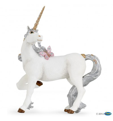 Licorne argentée