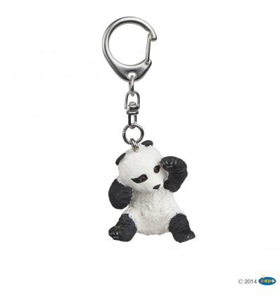 Key rings Playing baby panda
