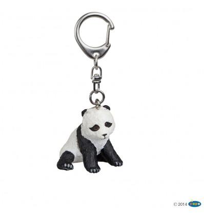 Porte-clés Petit panda assis