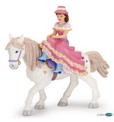 Reiterin mit Hut