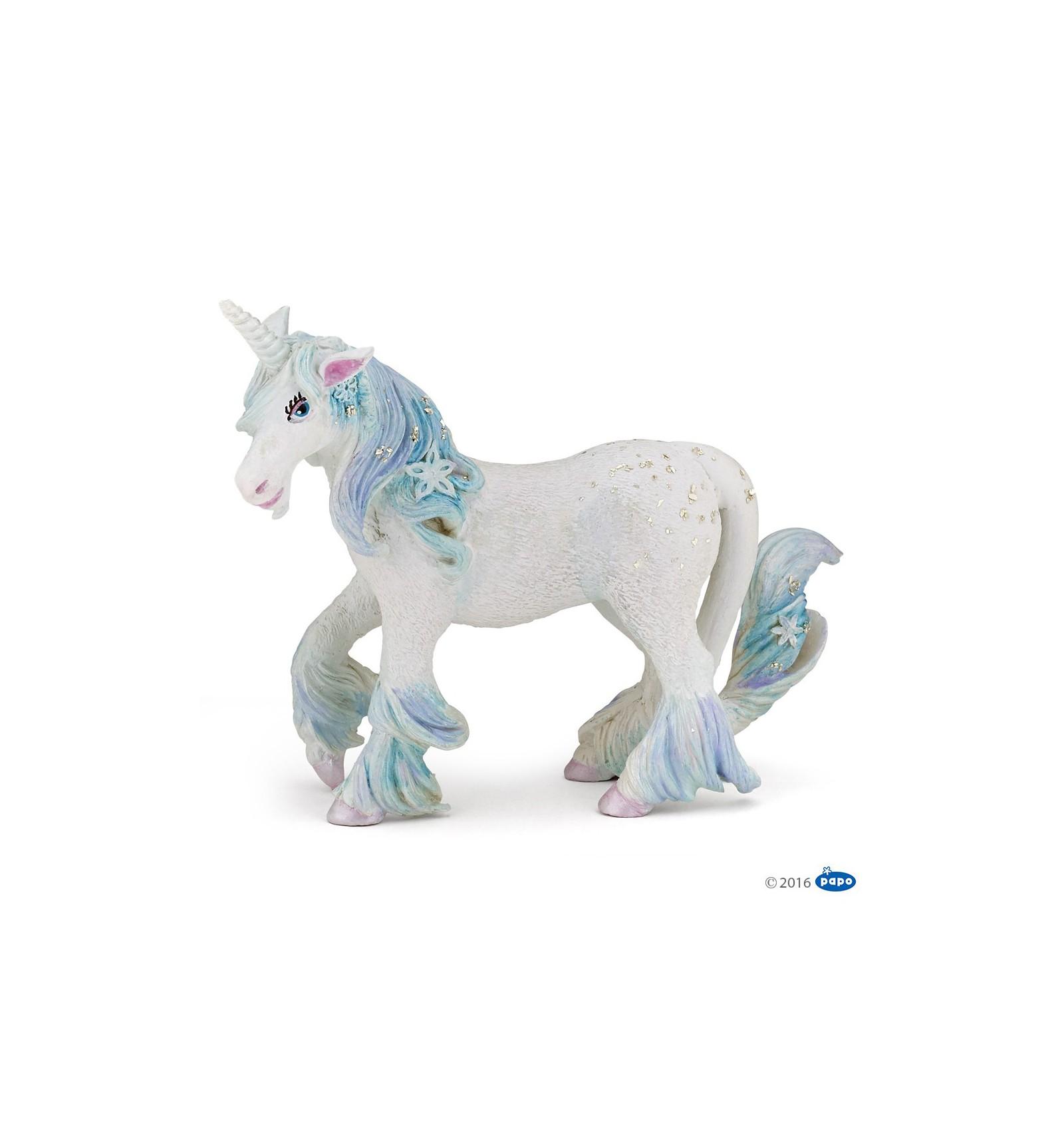Papo Figure Toys New Enchanted Fairy Unicorn