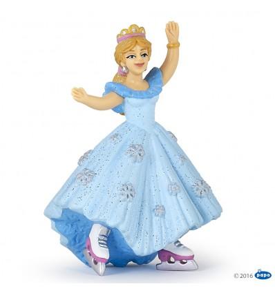 Princess with ice skates