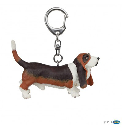 Key rings Basset hound