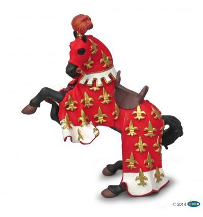Prinz Philips Pferd, rot