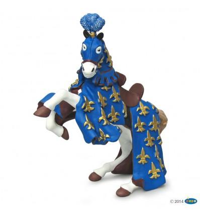 Prinz Philips Pferd, blau