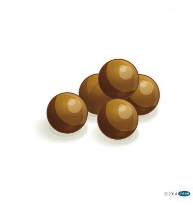 Set of 5 catapult balls