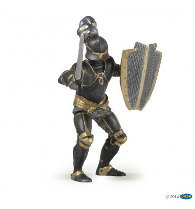 Chevalier en armure noire