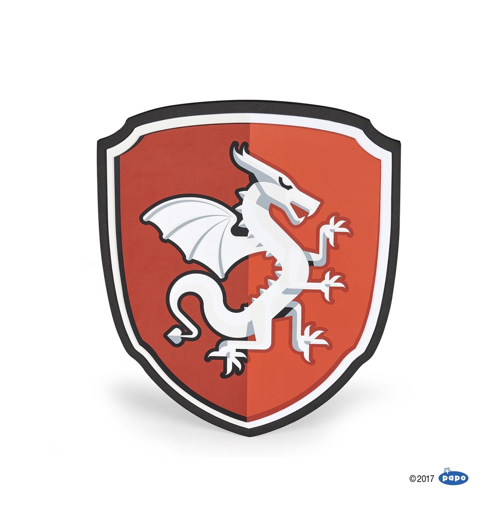 Shield Dragon knight - Papo