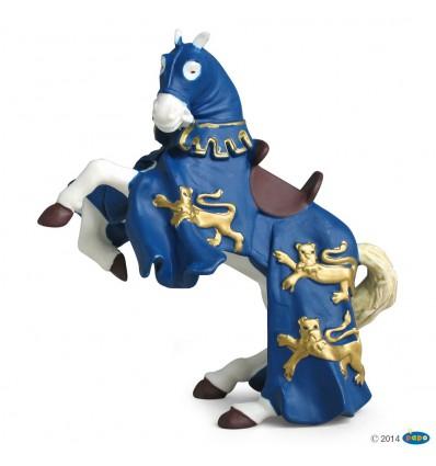 Pferd von Richard Löwenherz, blau