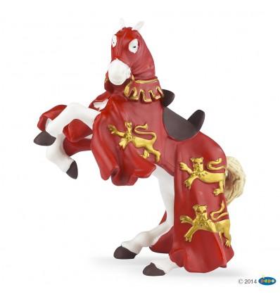 Cheval du roi Richard rouge