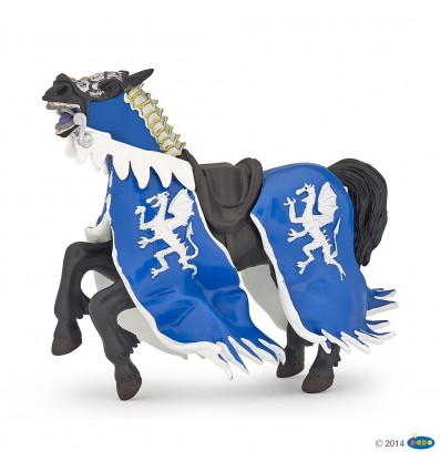 Blue dragon king horse