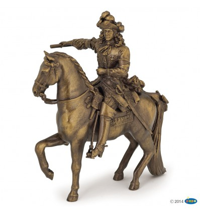 Louis XIV on his horse
