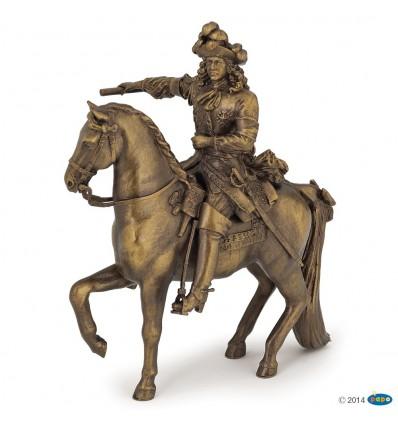 Louis XIV sur son cheval