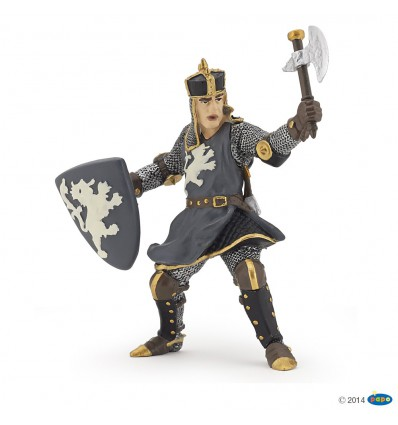 Black horseman with axe