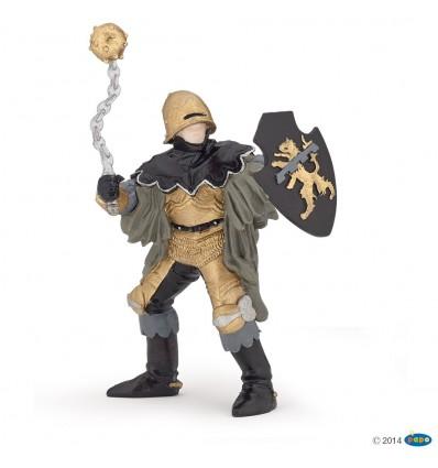 Officier à la masse d'arme noir et bronze