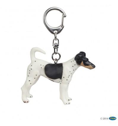 Key rings Fox terrier