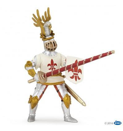 White knight fleur de lys