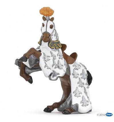 White Prince Philip horse