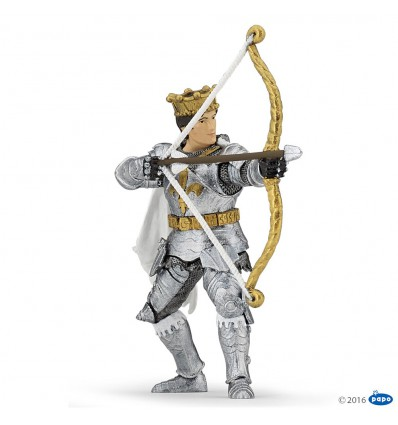 Prince with bow and arrow
