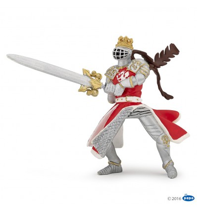 Dragon king with sword