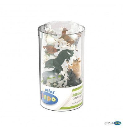 Mini PLUS Bauernhof (Kunststoffbehälter, 12 Stück)
