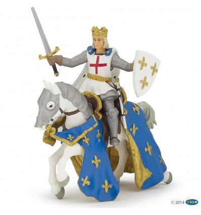 Saint Louis et son cheval