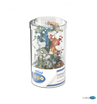 Mini Ritter (Kunststoffbehälter, 12 Stück)