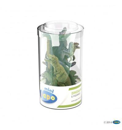 Mini PLUS Dinosaurs Set 1 (Tube, 6 pcs)