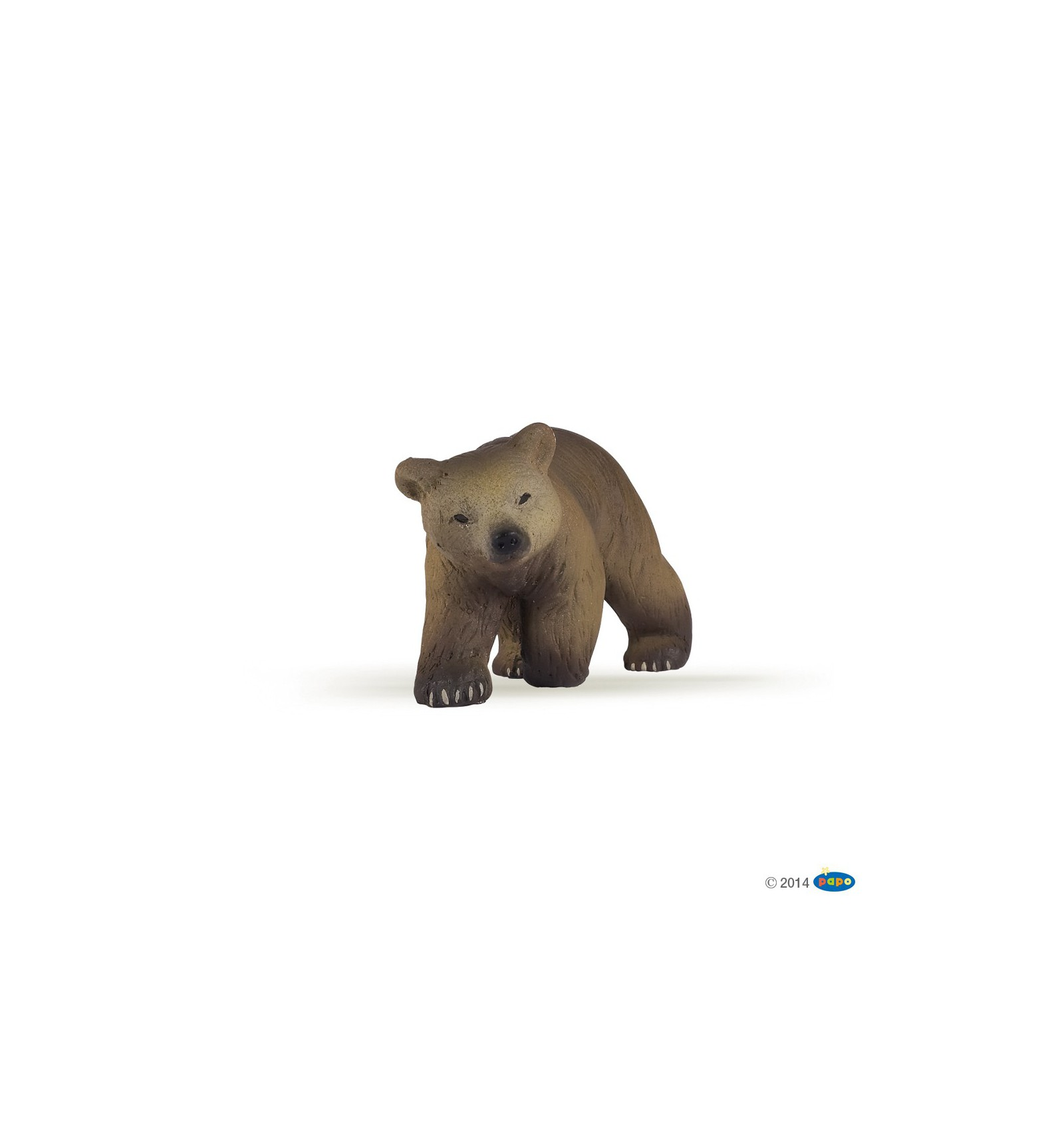 Pyrenees Bear Cub Papo Brown Animals 50031