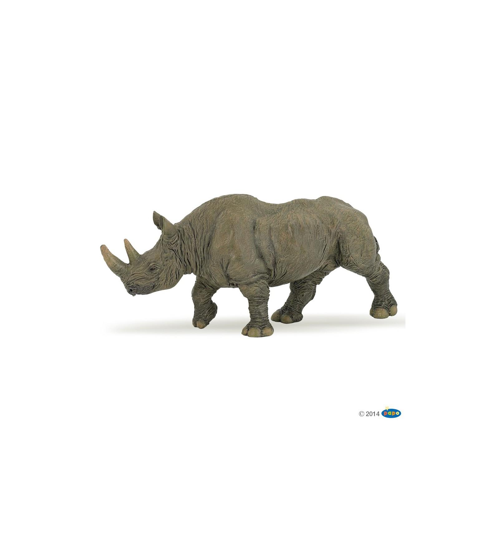 Black Rhinoceros Papo
