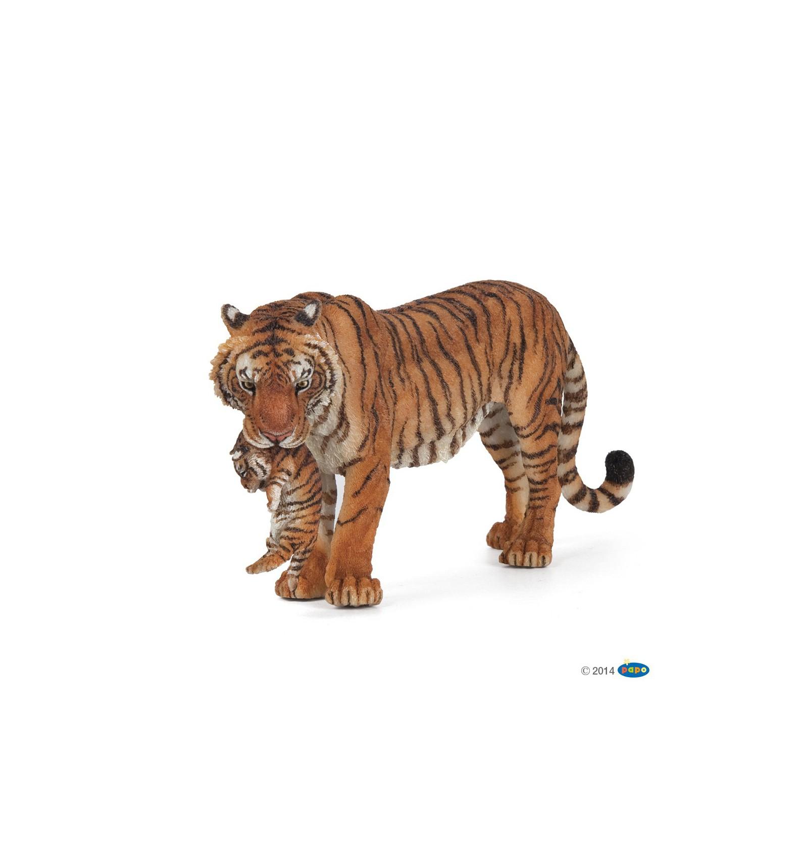 Tigress With Cub Papo