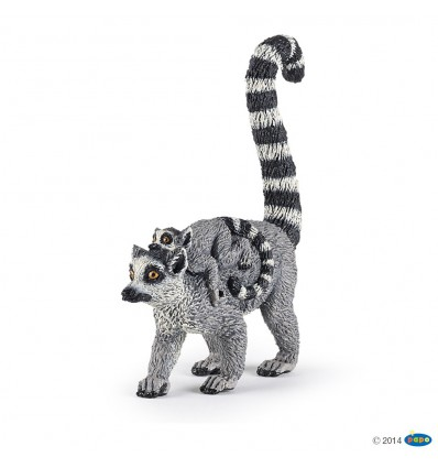 Lemur and baby