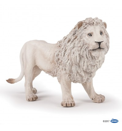 Grand lion blanc