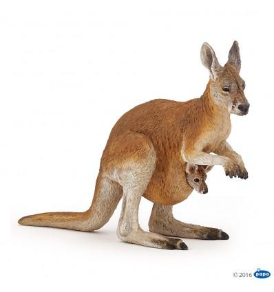 Kangourou et son bébé