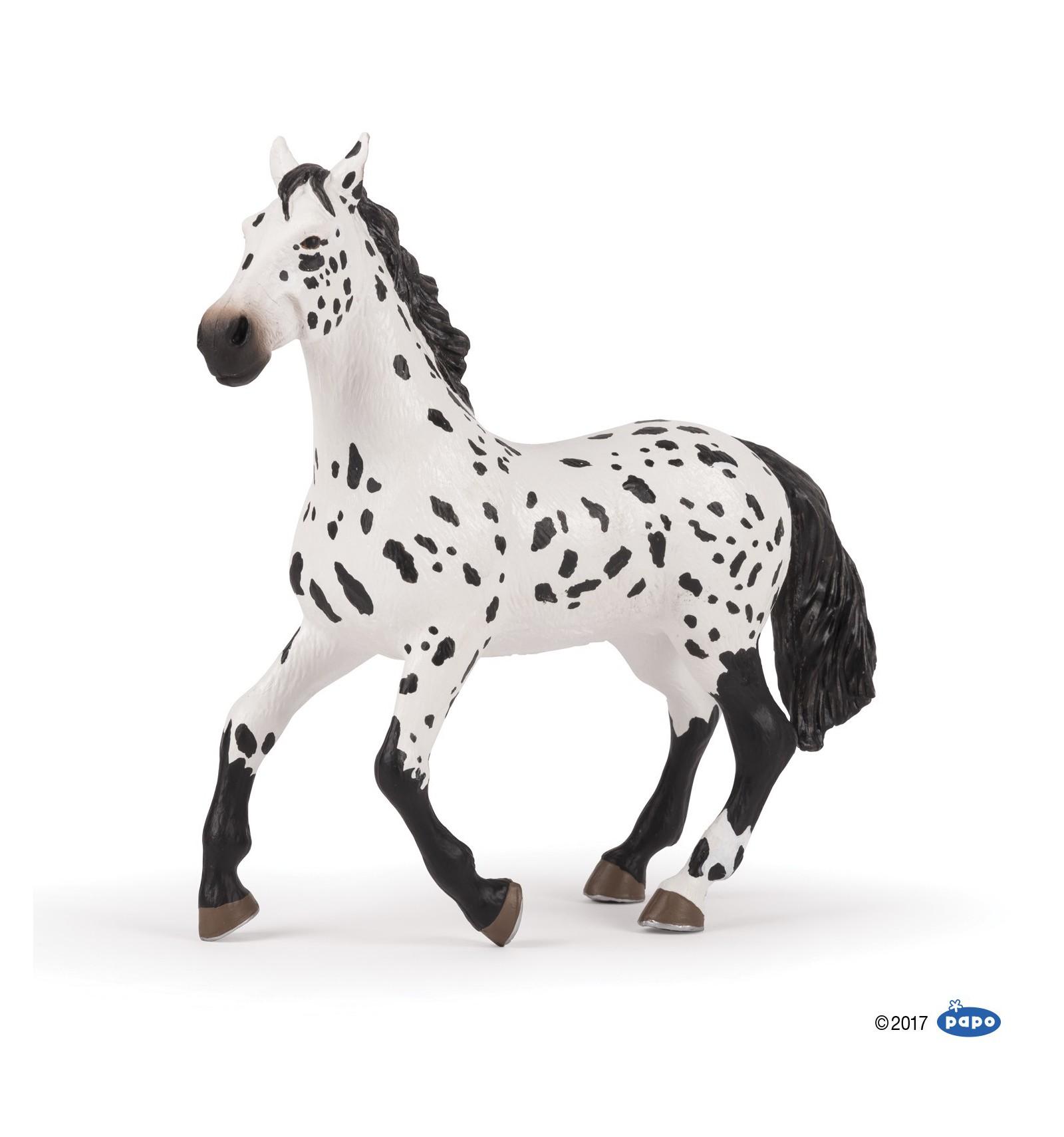 large appaloosa horse papo