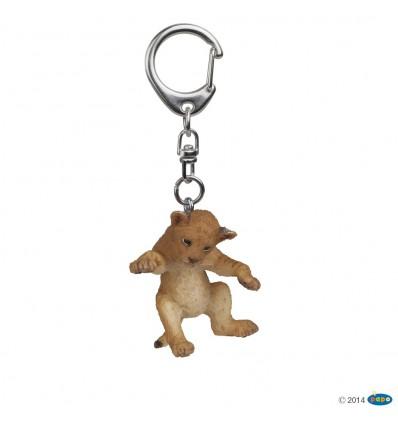 Porte-clés Lionceau sur le dos