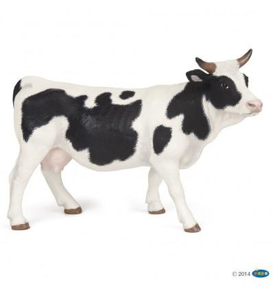 Vache noire et blanche