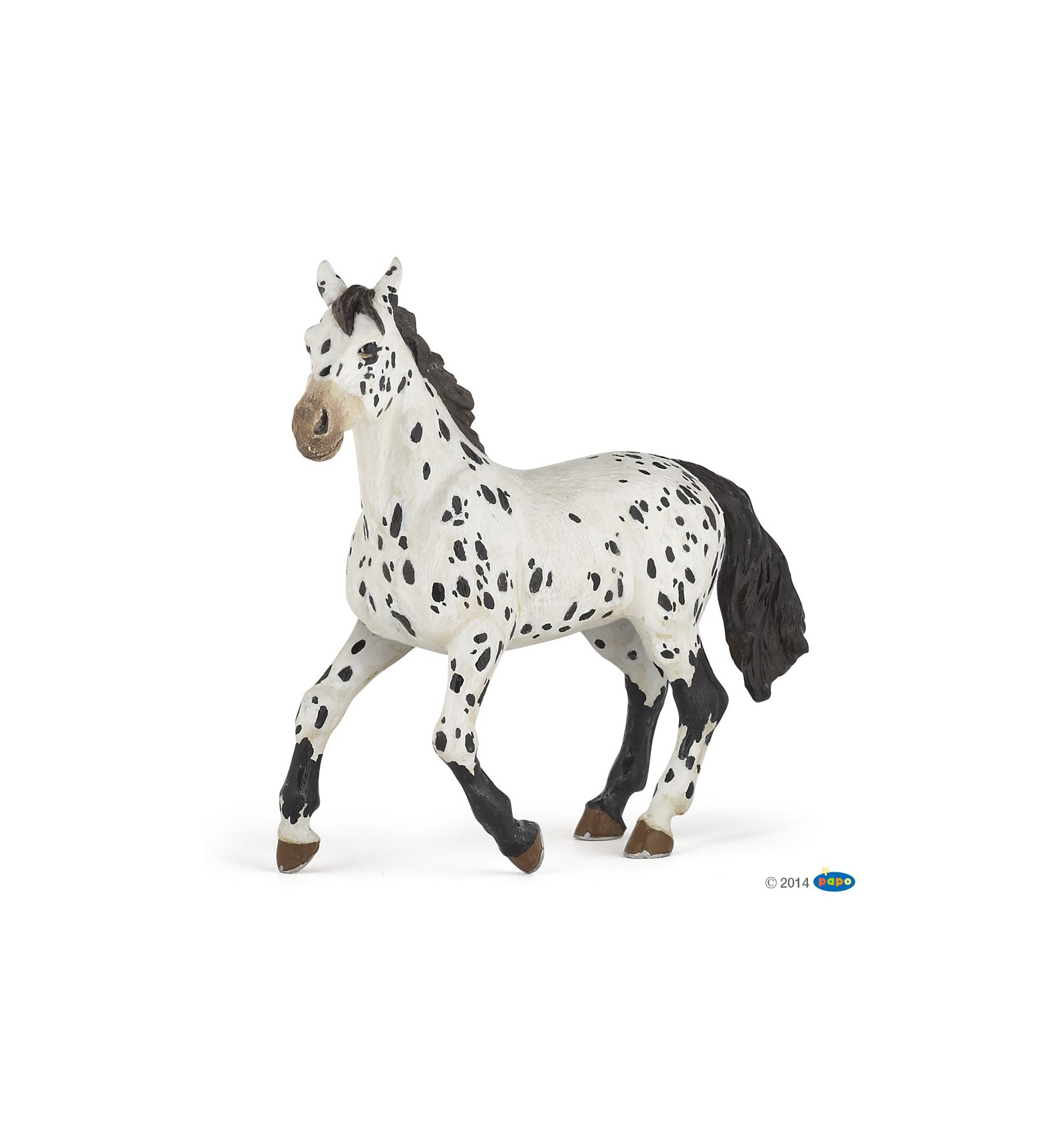 Black Appaloosa Horse Papo