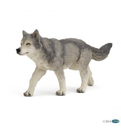 Graue Wölfin