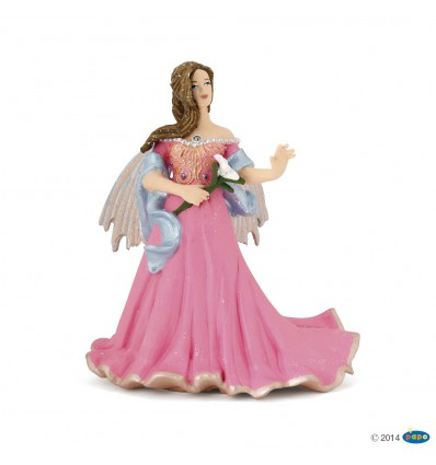 Elfe rosa mit Lilie