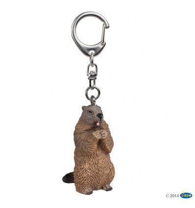 Porte-clés Marmotte