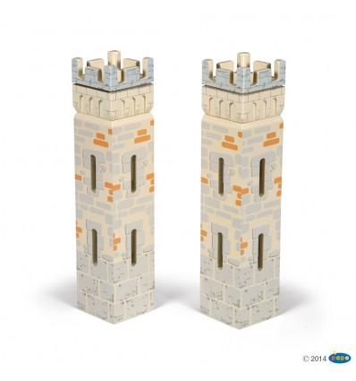 Set 2 château du Maître des armes (2 petites tours)