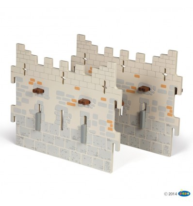 Set 4 Weapon master castle (2 large walls)