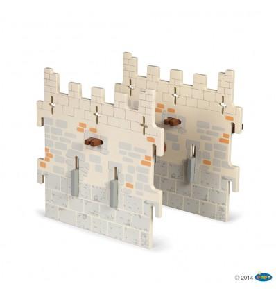 Set 5 château du Maître des armes (2 murs intermédiaires)